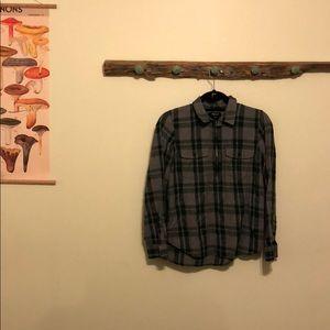 Madewell Half-zip Flannel